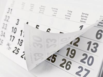 Kalender als Werbemittel: Abreißkalender