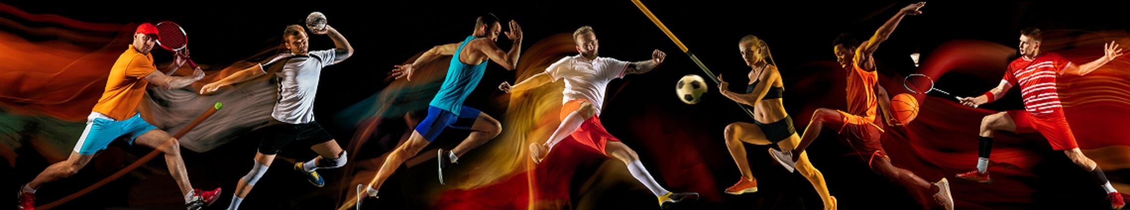 Sportler fotografiert: professionelle Sportfotografie