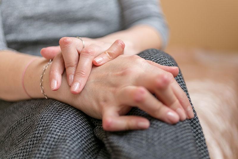 Symptome bei Arthritis: Gelenkdeformierungen