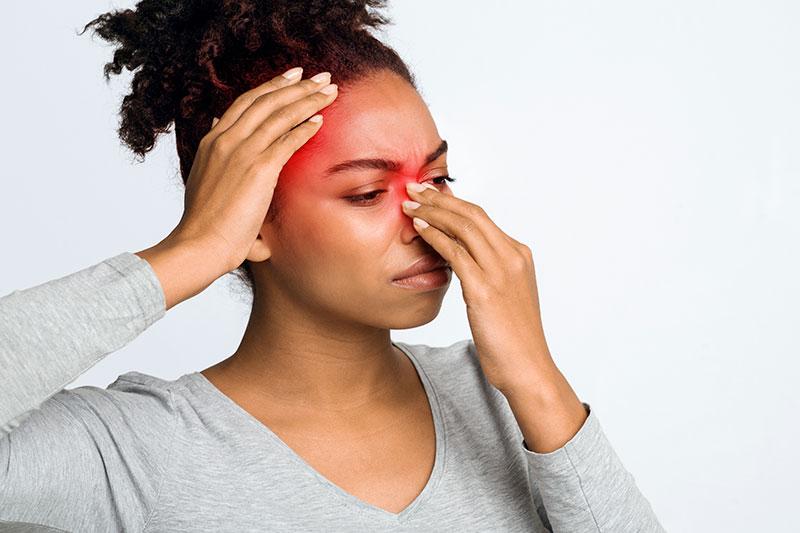 Symptome chronische Sinusitis