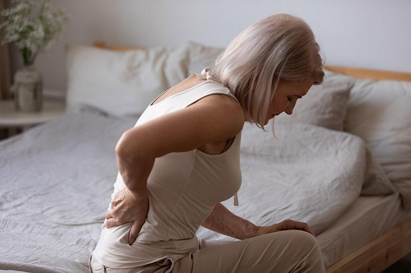 Schmerzen bei Osteoporose