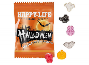 Halloween Fruchtgummi als Give Away