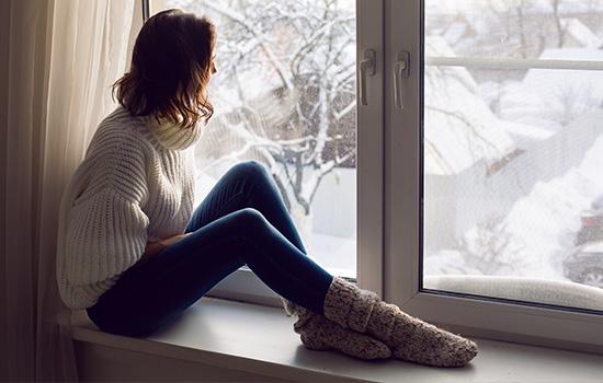 Schimmelbildung im Winter
