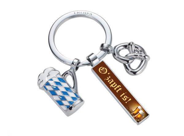Schlüsselanhänger für Münchener Werbemittel