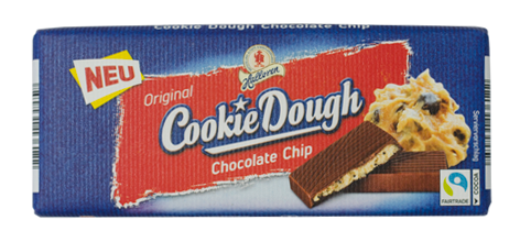 Original Cookie Dough Chocolate Chip Schokoladentafel