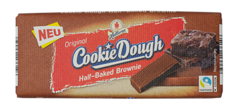 Original Cookie Dough Half-Baked Brownie Schokoladentafel