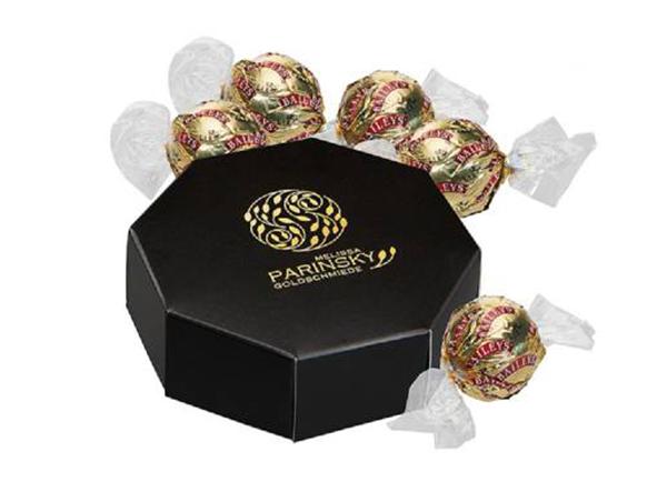 Baileys Pralinen in edler Verpackung als hochwertiges Werbegeschenk