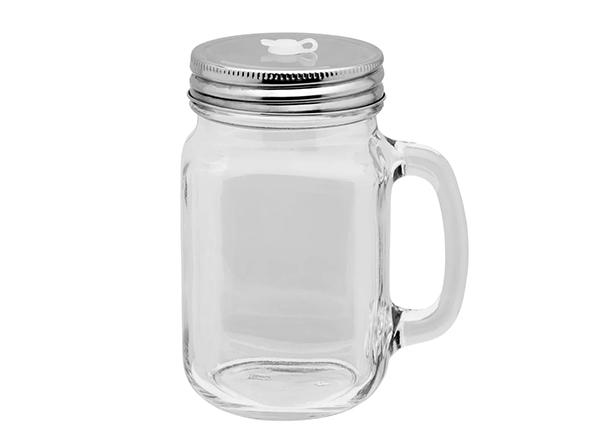 Trinkglas im Mason Jar Stil als Trendartikel