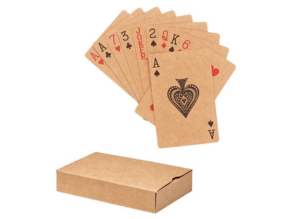 Spielkarten aus recyceltem Papier als Trendartikel