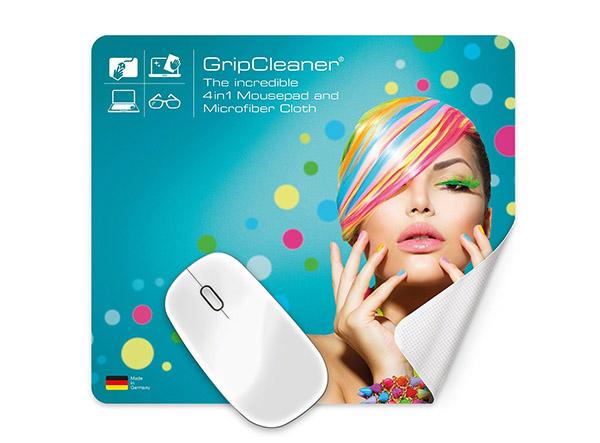 Werbeartikel-Beschaffung: Individuell bedrucktes 4in1 Mousepad