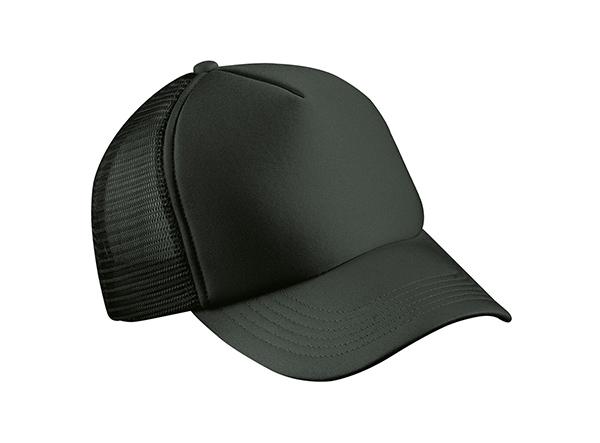 schwarzes Baseball Cap als Merchandise