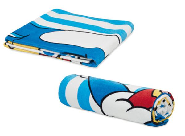 Individuell bedruckte Handtücher als Merchandise