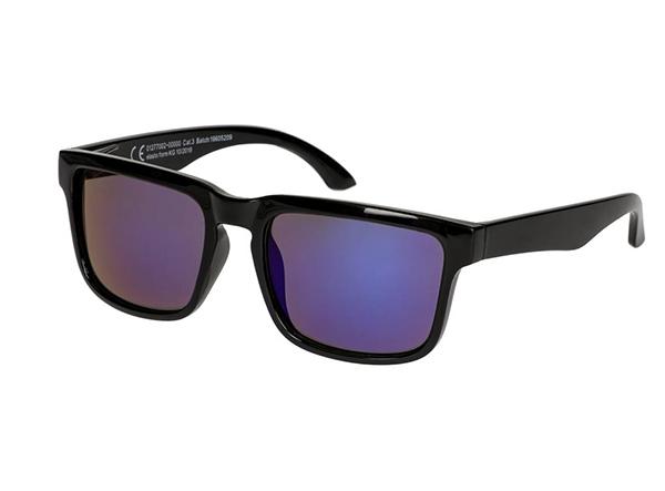 Schwarze Sonnenbrille als Merchandise