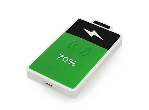 Grün schwarzer Wireless Charger