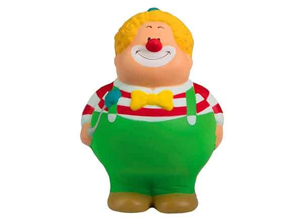 Bunter Clown als Stressball