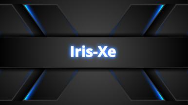 Iris-Xe-Karten