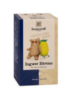 Packung á 18 Beutel Ingwer Zitronen Tee