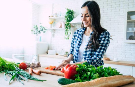 Obst und Gemüse als Grundlage für eine gesunde Ernährung