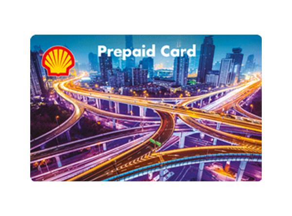 Shell Prepaid Karte als Prämie für Mitarbeiter und Kunden