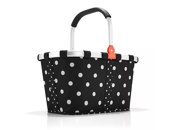 schwarzer carrybag mit weißen Punkten als Prämien Produkt