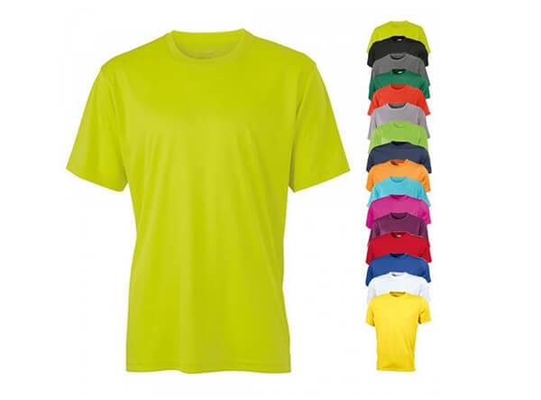 Grünes Funktions T-Shirt für Freizeit und Sport
