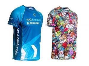 Performance Running Shirts für den Firmenlauf