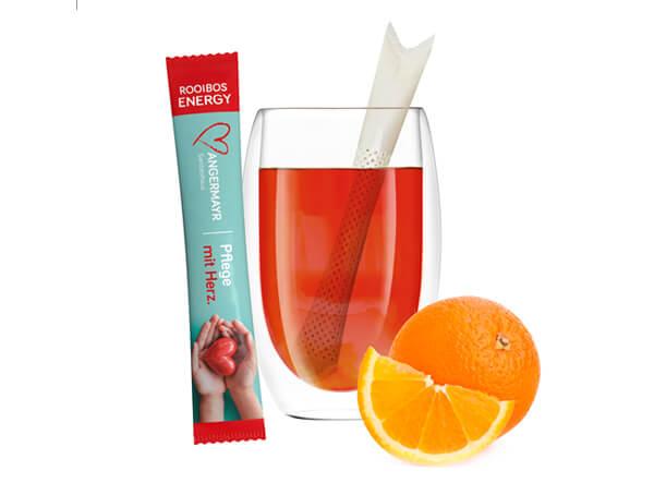 Bio-Tee Sticks als Werbemittel auf Messen